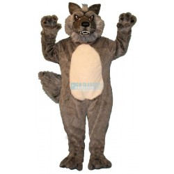 Growling Wolf Lightweight Mascot Costume