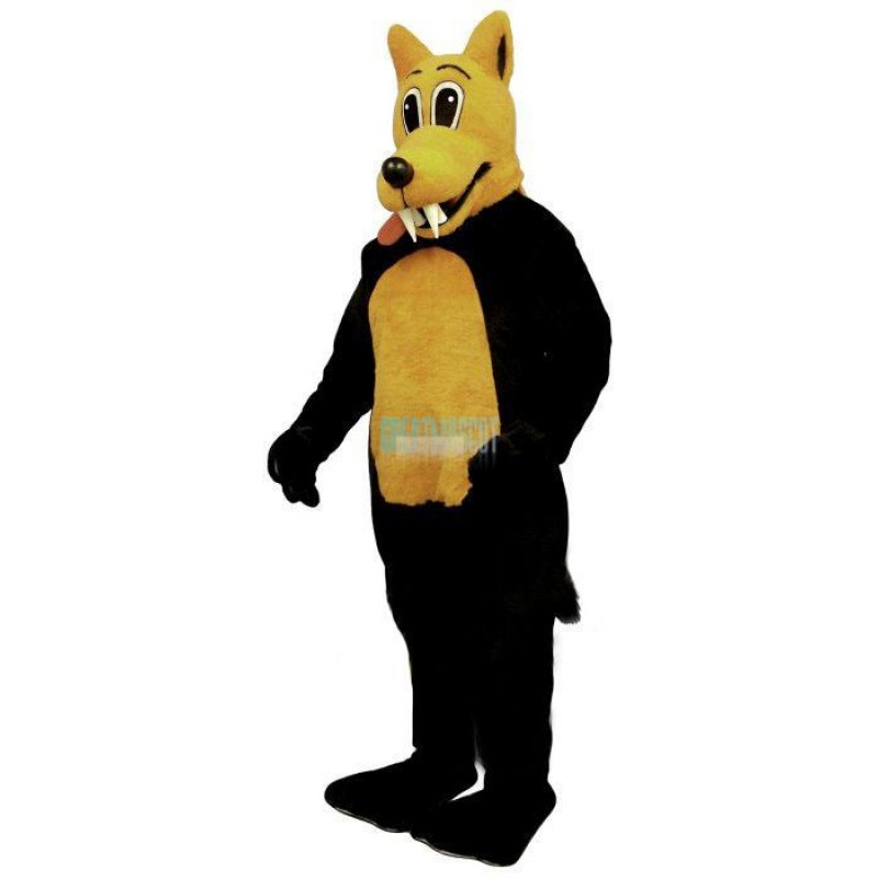 Carl Coyote Lightweight Mascot Costume