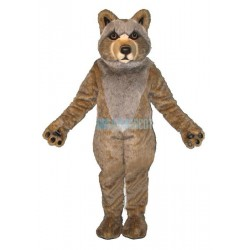 Mexican Grey Wolf Lightweight Mascot Costume
