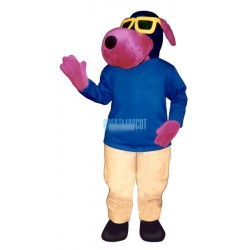 Dawgiew-Sun Glasses Lightweight Mascot Costume