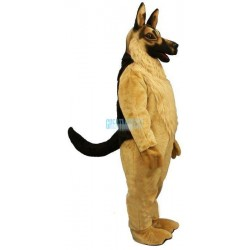 German Shepard Lightweight Mascot Costume