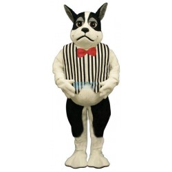 Harrington w-Vest & Tie Lightweight Mascot Costume