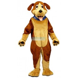 Ben Beagle w-Collar Lightweight Mascot Costume
