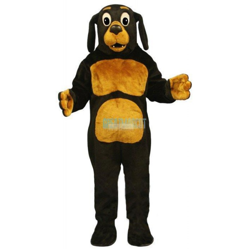 Dobie Dog Lightweight Mascot Costume