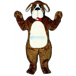 Nanny Dog w tongue Lightweight Mascot Costume
