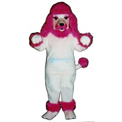 Pink Poodle Lightweight Mascot Costume