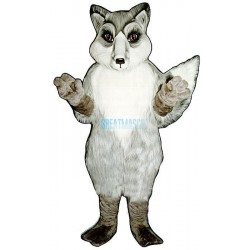 Realistic Fox Lightweight Mascot Costume