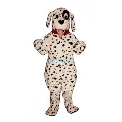 Cute Dalmation w-Collar Lightweight Mascot Costume