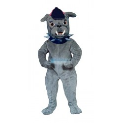 Bull Dog w-Collar & Hat Lightweight Mascot Costume