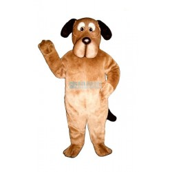 Educated Dog w-Glasses Lightweight Mascot Costume