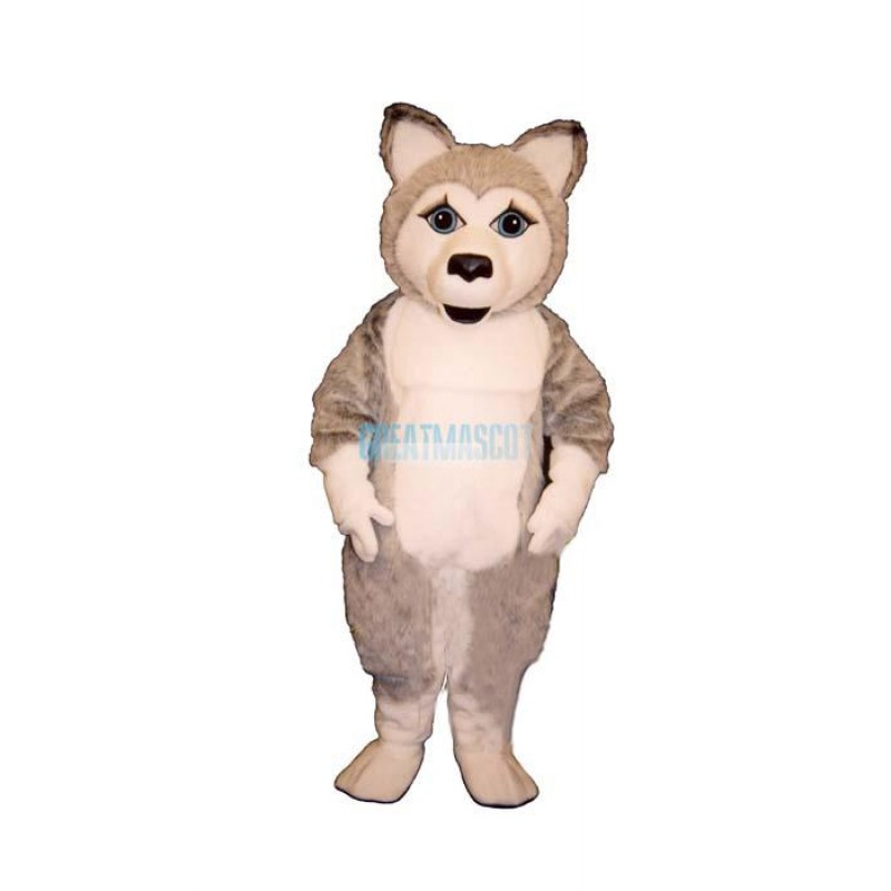 Girl Wolf Lightweight Mascot Costume
