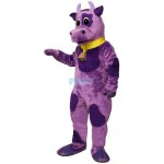 Ms.Violet w-Bell Collar Lightweight Mascot Costume