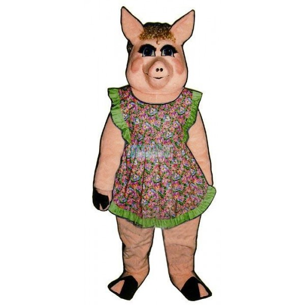 Peaches Pig Lightweight Mascot Costume
