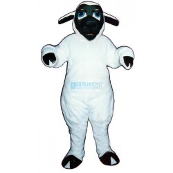 Black-face Sheep Lightweight Mascot Costume