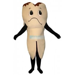 Sad Tooth Lightweight Mascot Costume