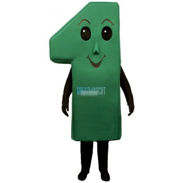 Number One Lightweight Mascot Costume