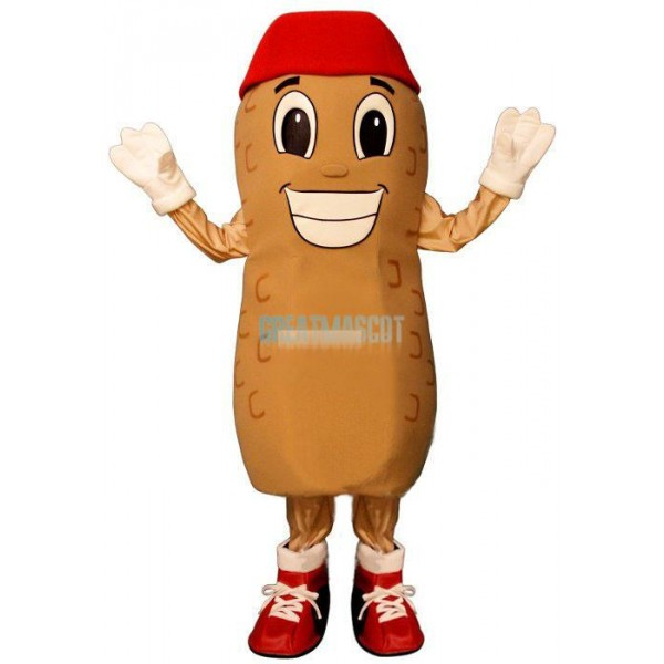Home Run Peanut w-Hat & Shoes Lightweight Mascot Costume