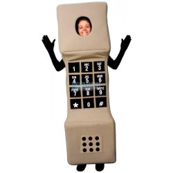 pen Face Phone Lightweight Mascot Costume