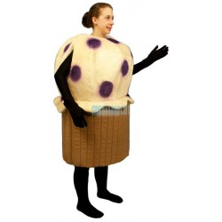 Blueberry Muffin Lightweight Mascot Costume
