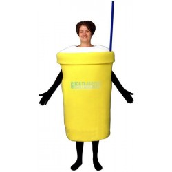 Milk Shake Lightweight Mascot Costume