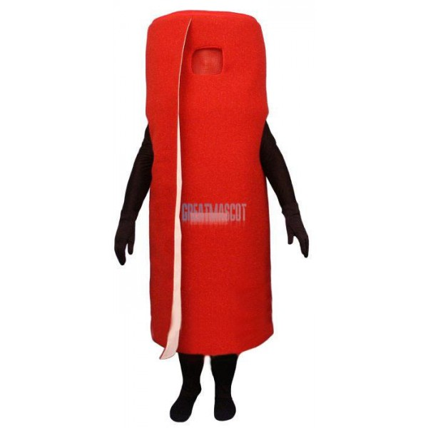 Rolled Red Carpet Lightweight Mascot Costume