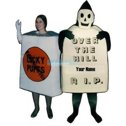 No Smoke Cigarettes Lightweight Mascot Costume