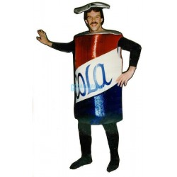 Cola Can Lightweight Mascot Costume