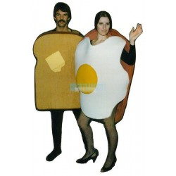 Toast Lightweight Mascot Costume