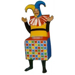 Jack in The Box Lightweight Mascot Costume