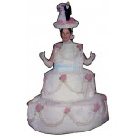 Three Layer Cake Lightweight Mascot Costume