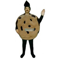 Chocolate Chip Cookie Lightweight Mascot Costume