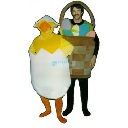 Hatching Chick Lightweight Mascot Costume
