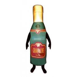 Champagne Bottle Lightweight Mascot Costume
