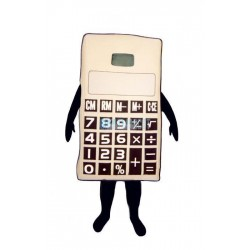 Calculator Lightweight Mascot Costume