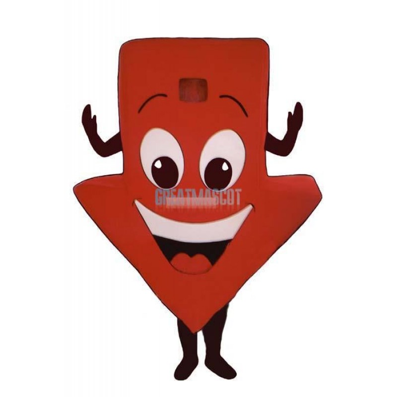 Red Arrow Lightweight Mascot Costume