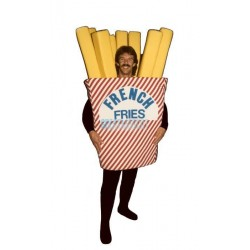 French Fries Lightweight Mascot Costume