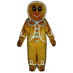 Ginger Bread Boy Lightweight Mascot Costume