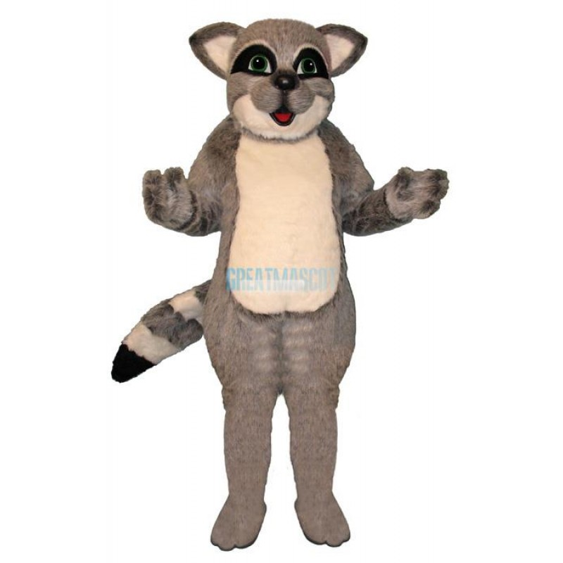 Grey Raccoon Lightweight Mascot Costume