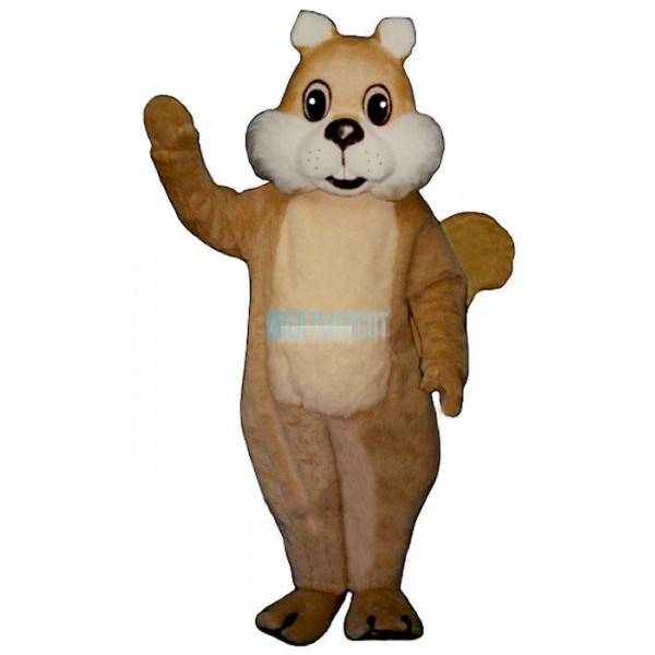 Chubby Squirrel Lightweight Mascot Costume