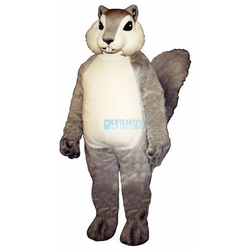 Grey Squirrely Lightweight Mascot Costume