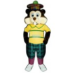 Golfing Gopher Lightweight Mascot Costume