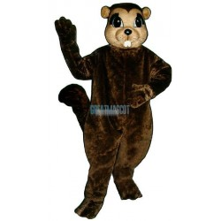 Susie Squirrel Lightweight Mascot Costume