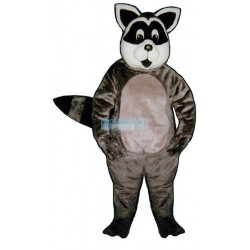 Sunny Raccoon Lightweight Mascot Costume