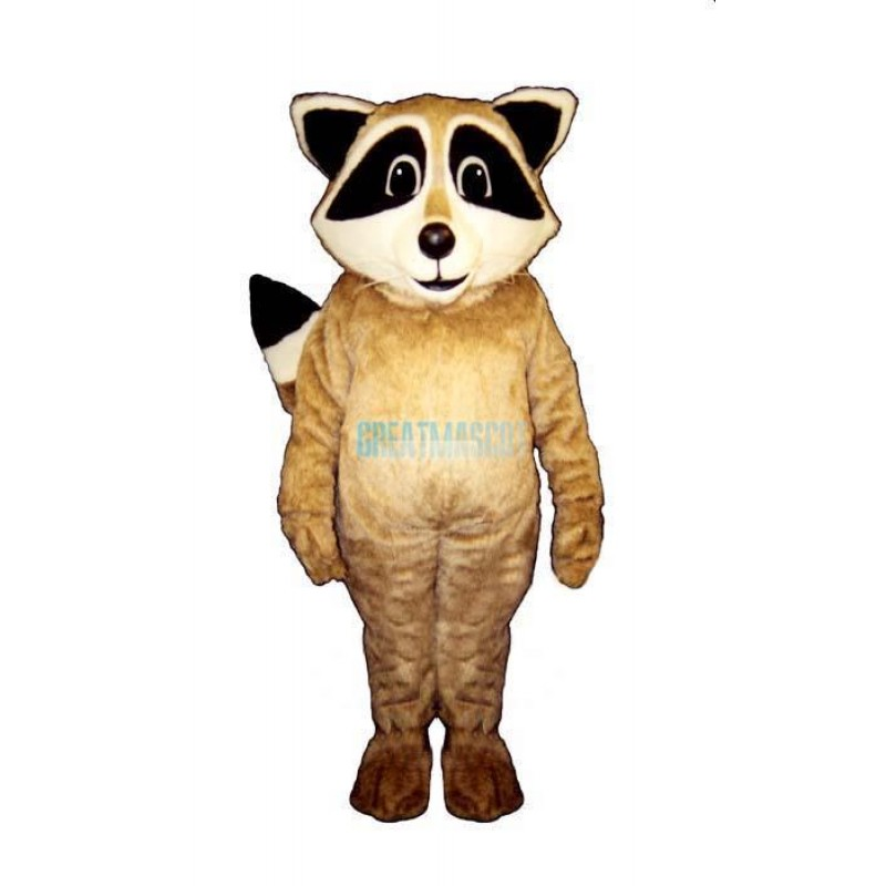 Tan Racoon Lightweight Mascot Costume