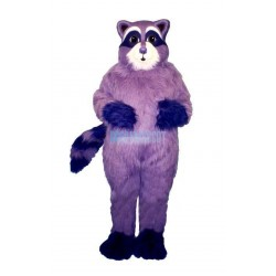 Purple Racoon Lightweight Mascot Costume