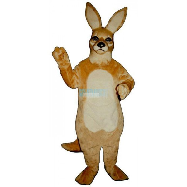 Girl Kangaroo Lightweight Mascot Costume