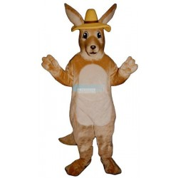 Melbourne Roo w-Hat Lightweight Mascot Costume