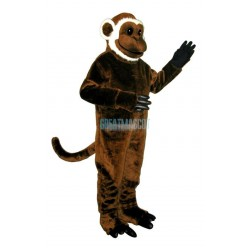 Bearded Monkey Lightweight Mascot Costume