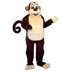 Zoo Monkeyw-Wired Tail Lightweight Mascot Costume