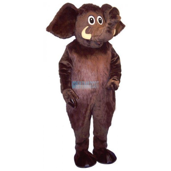 Monty Mammoth Lightweight Mascot Costume